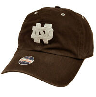 NCAA Notre Dame Fighting Irish Vintage Franchise Cap Hat Garment Washed Brown