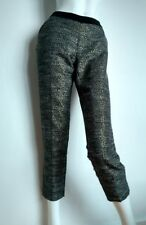 MAISON SCOTCH tailored evening trousers size 2 UK10 slim leg fully lined