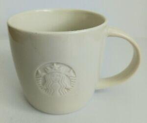 Starbucks White Coffee Mug Height: 9cm Diameter: 9.5cm