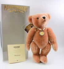 Vintage Merrythought Mohair Bear Ha Penny No 16 Coin Necklace