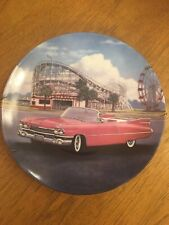 """1959 Pink Cadillac"" Fab Cars of the Fifties Plate #4 Car George Angelini"