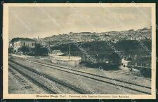 Bari Minervino Murge Stazione Treno cartolina KF2161