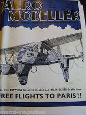 AEROMODELLER 1938 MAY 30TH ISSUE FACSIMILE MODEL AIRCRAFT AVIATION