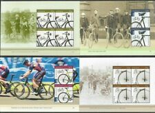 Australia Cycling-Bicycles- set of 4 sheets mnh-2015
