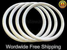 "18"" tire WhiteWall Portawall Insert car Tyre trim set of 4 .hot car street car"
