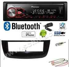 Pioneer MVH-X390BT autoradio USB / bluetooth + Kit montaggio per FIAT Punto evo