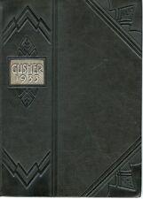 1933 Natrona High School Yearbook, Casper, Wyoming - The Gusher