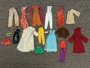 VINTAGE 1960s 1970s Barbie Clothes (ALL ITEMS ONE PRICE)..