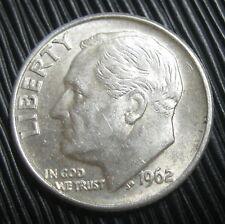 ETATS-UNIS , USA - ONE DIME 1962 D - ROOSEVELT - Argent