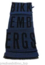 Bikkembergs Foulard Uomo sciarpa ideo regalo pashmina blu e nero