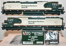 BNSF 9647 SD70MAC Merger Scheme  Kato HO  37-6383 F26.7