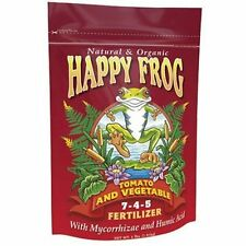 Fox Farm Happy Frog Tomato and Vegetable 4 lb Pound - organic garden fertilizer