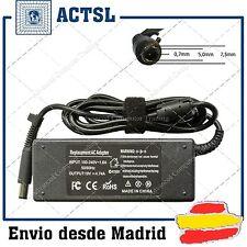 CARGADOR + CABLE HP DV6 DV7 DV COMPATIBLE 19V 90W 4.74A ALTA CALIDAD DSD MADRID