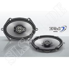 "Ford Fiat Mazda 3-Wege Koaxial KFZ Lautsprecher 250 W 13x18cm 5""x7"" ovale Boxen"