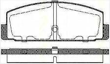 Plaquettes Frein AR TRISCAN MAZDA 323 F VI (BJ) 1.4 16V 73 CH