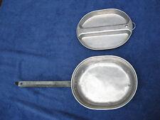 1945  2 Piece Mess Kit  US TACU Co. The Aluminum Cooking Utensil Company USMC