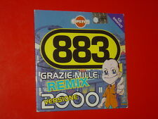 "883 CD SINGLE 3 TRK GRAZIE MILLE REMIX VERSIONE 2000 ""PROMO CIPSTER""NEW SEALED"