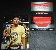 Anderson Silva 2011 Topps Title Shot Gold UFC Card #10 64 77 117 148 153 101 168