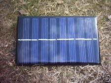 Monocristallin 6V 200MA panneau solaire, idéal pour moteur, led ou de charge de la batterie