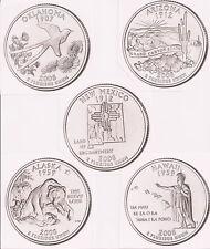 2008 State Quarter P&D BU Set (10 Coins) Buy it Now