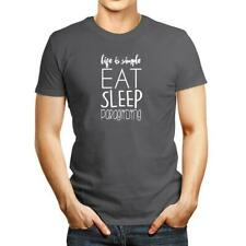Life is simple eat sleep Paragliding 2 T-shirt