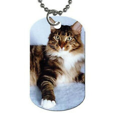 Double Sided Custom Personalized Dogs Tags Your Photo,Picture,Text w/BeadedChain
