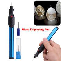 Micro Penna Fresa Incisione Elettrica Per Scrivere Metalli Vetro Legno Ferro