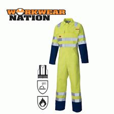 Dickies Proban Hi Vis Coverall Overall, Flame Retardant, Boiler Suit Yellow