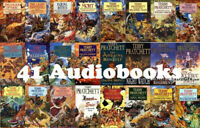 41 Discworld AUDIOBOOKS Terry Pratchett MP3 Unabridged