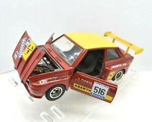 MODELLINO AUTO FIAT 131 RALLY SCALA 1/24 1:25 MEBETOYS DIECAST POLISTIL BURAGO