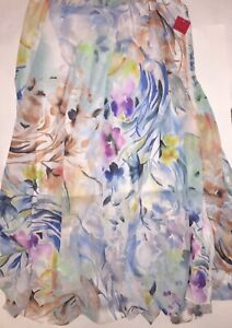 V Christina NWT Muticolored Floral Sheer Skirt Size XL See Full Description
