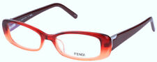 NEWT W AUTHENTICITY CARD  FENDI F967 49/16/135 LOGO EYEGLASSES W HARD CASE