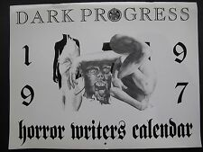 Anon – DARK PROGRESS 1997 HORROR WRITERS CALENDAR