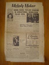 MELODY MAKER 1950 JUL 1 EVE BOSWELL EDDIE PALMER JAZZ