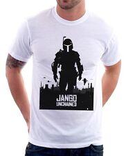 JANGO Unchained Django Boba Fett Jedi Star Wars Yoda white t-shirt 9584