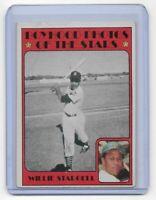 1972 Topps Baseball #343 ~ WILLIE STARGELL~Boyhood Photos of the Stars ~ Pirates