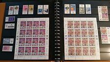 UNO Genf Top Sammlung 1969-1992 teild doppelt postfrisch MNH +Kleinbogen 1100€