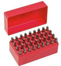 Geiger 36 Piece Number and Letter Punch Set 4mm GYC607-4