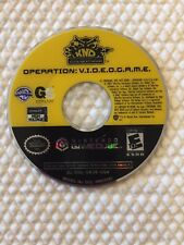 KND Kids Next Door Operation V.I.D.E.O.G.A.M.E. ( Nintendo Gamecube ), Disc Only