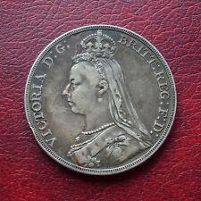 Victoria 1891 silver crown