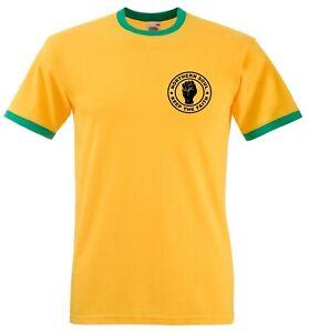 Northern Soul Keep The Faith T Shirt - Slim fit ska Mod Ringer Tee