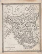 1834. Turkey In Europe & Greece, Map. Alexander Findlay Db64
