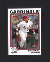 YADIER MOLINA   2004 Topps  #324  FY  ROOKIE CARD  St. Louis Cardinals