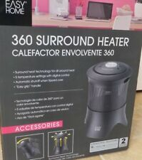 Easy Home 360 Surround Heater Black New in Box