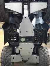 Polaris Sportsman XP1000 15-17 Full Belly Skid Plate 2pc Skids Aluminum
