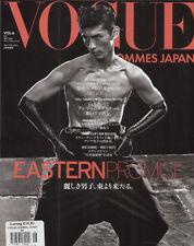 VOGUE HOMMES JAPAN #6 Daisuke Ueda NOBUYOSHI ARAKI Kim Hyun Joong LUKA BADNJAR