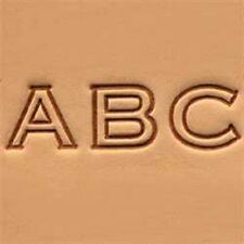 "Craftool 1/2"" (13 mm) Block Alphabet Set Item Tandy Leather 8143-00 Free Ship"