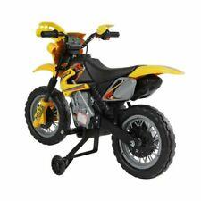 HomCom 370-012 2,5km/h Moto Eléctrica para Niños - Negro/Amarillo