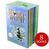 The Worst Witch Collection By Jill Murphy Children Kids Stories 8 Books Box Set