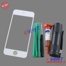 White Front Screen Glass Lens+UV Glue Set for iPod Touch 6th Gen 6 A1574 ZVGS261
